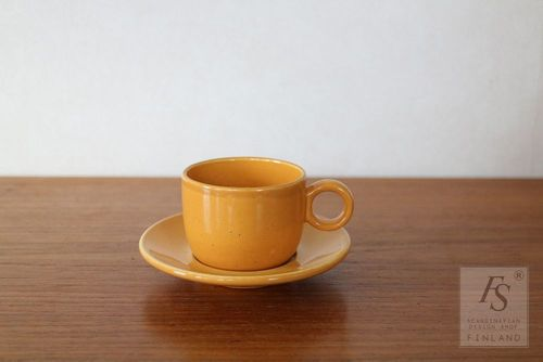 Gustavsberg PRIMULA demitasse cup and saucer