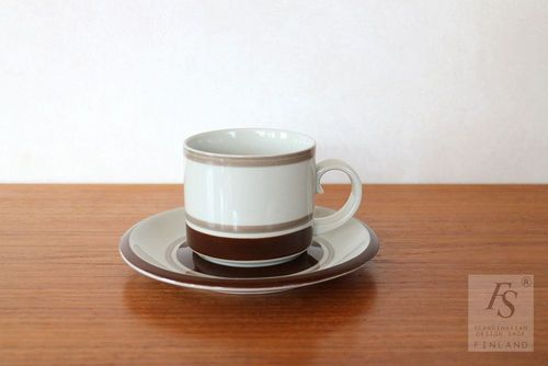 Arabia PIRTTI teacup and saucer