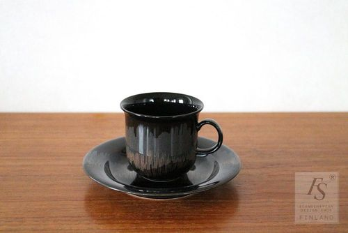 Arabia AURORA BOREALIS coffee cup and saucer
