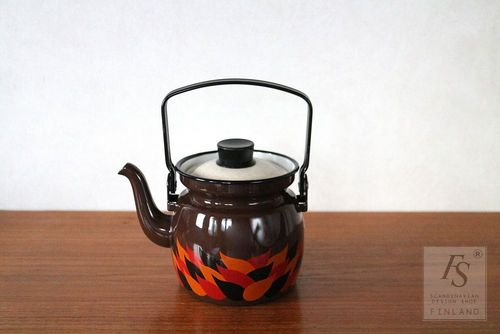 VIRVA enamel coffee pot 0,6 Ltr