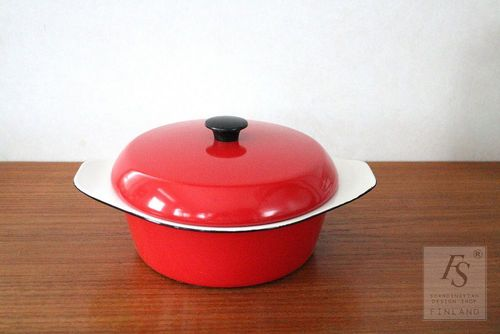 KOCKUMS enameled casserole