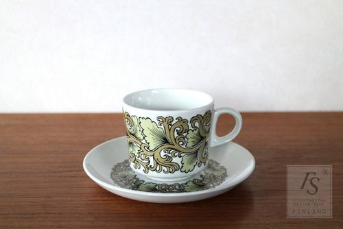 Arabia HERMES coffee cup and saucer, model BR