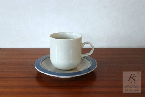 Arabia hot chocolate cup and saucer, model KR
