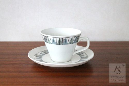 Rörstrand TEBE teacup and saucer