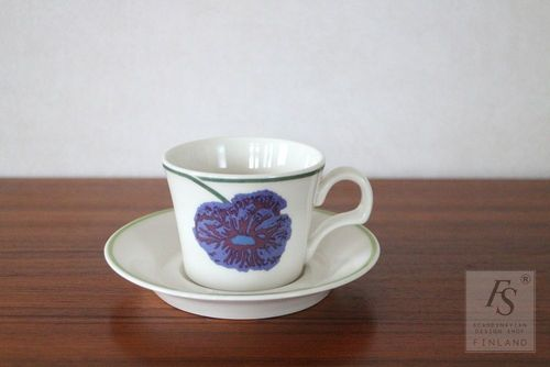 Arabia ILLUSIA coffee cup and saucer