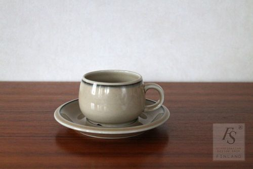 Arabia coffee cup and saucer