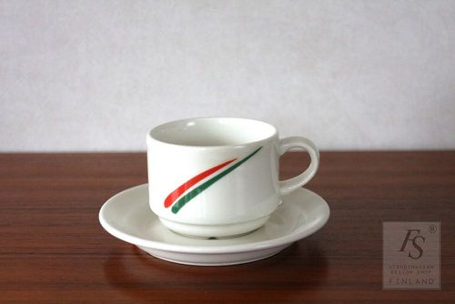 Arabia Forte coffee cup and saucer