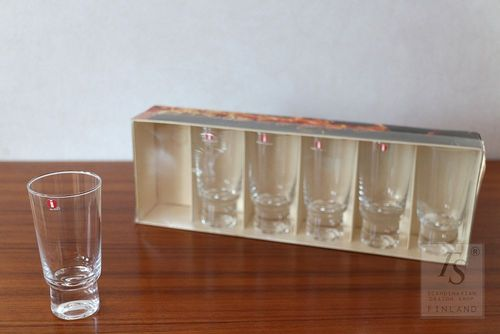 Iittala FUTURE glass 6 cl, 6 pcs