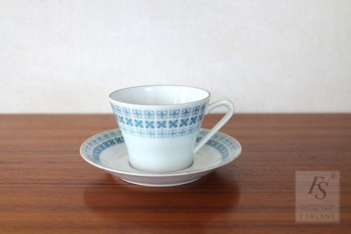 Upsala Ekeby / Karlskrona, coffee cup and saucer