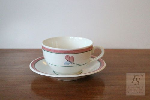 Rörstrand JENNY coffee cup and saucer